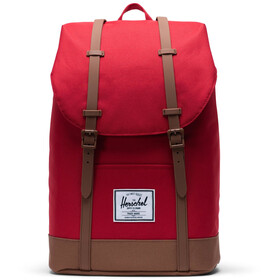 Herschel Retreat Rugzak 19,5l, red/saddle brown